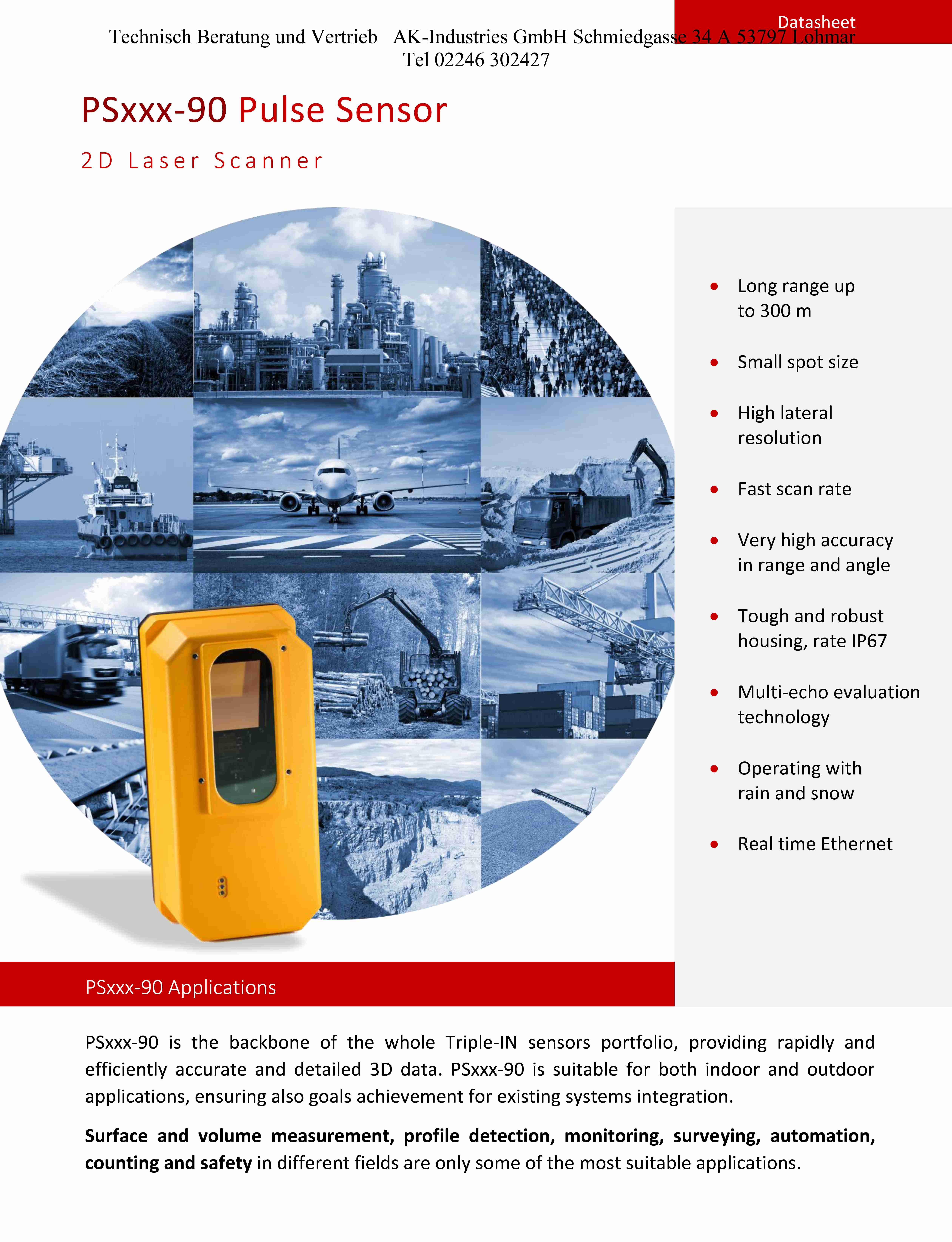 Laser Scanner PSxxx-90