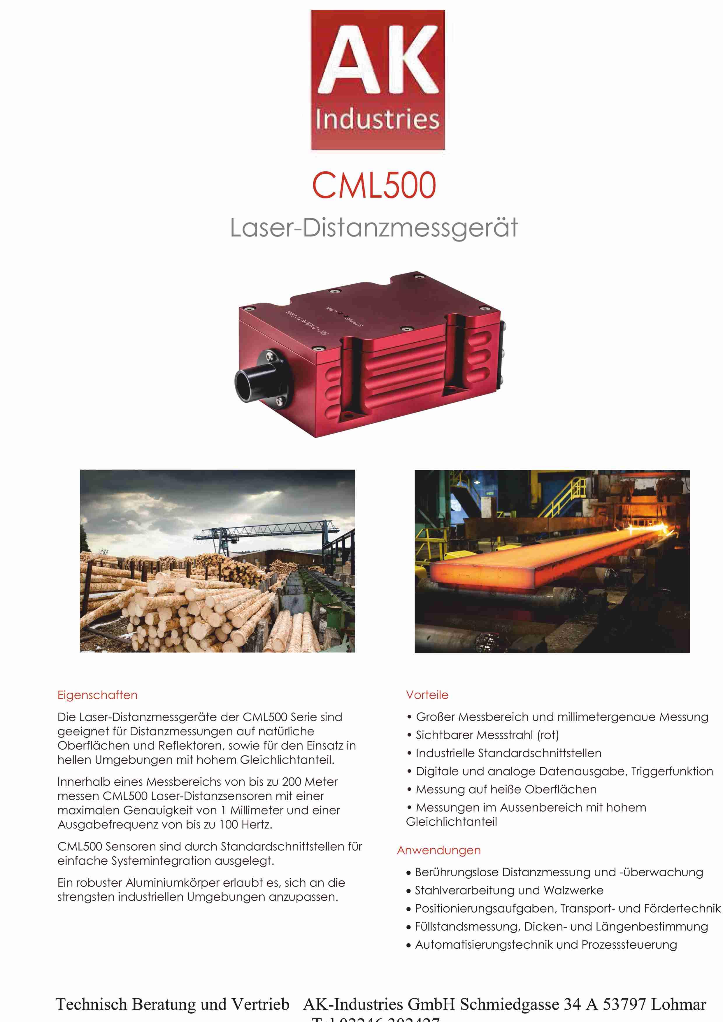 Datenblatt CML500 Laser