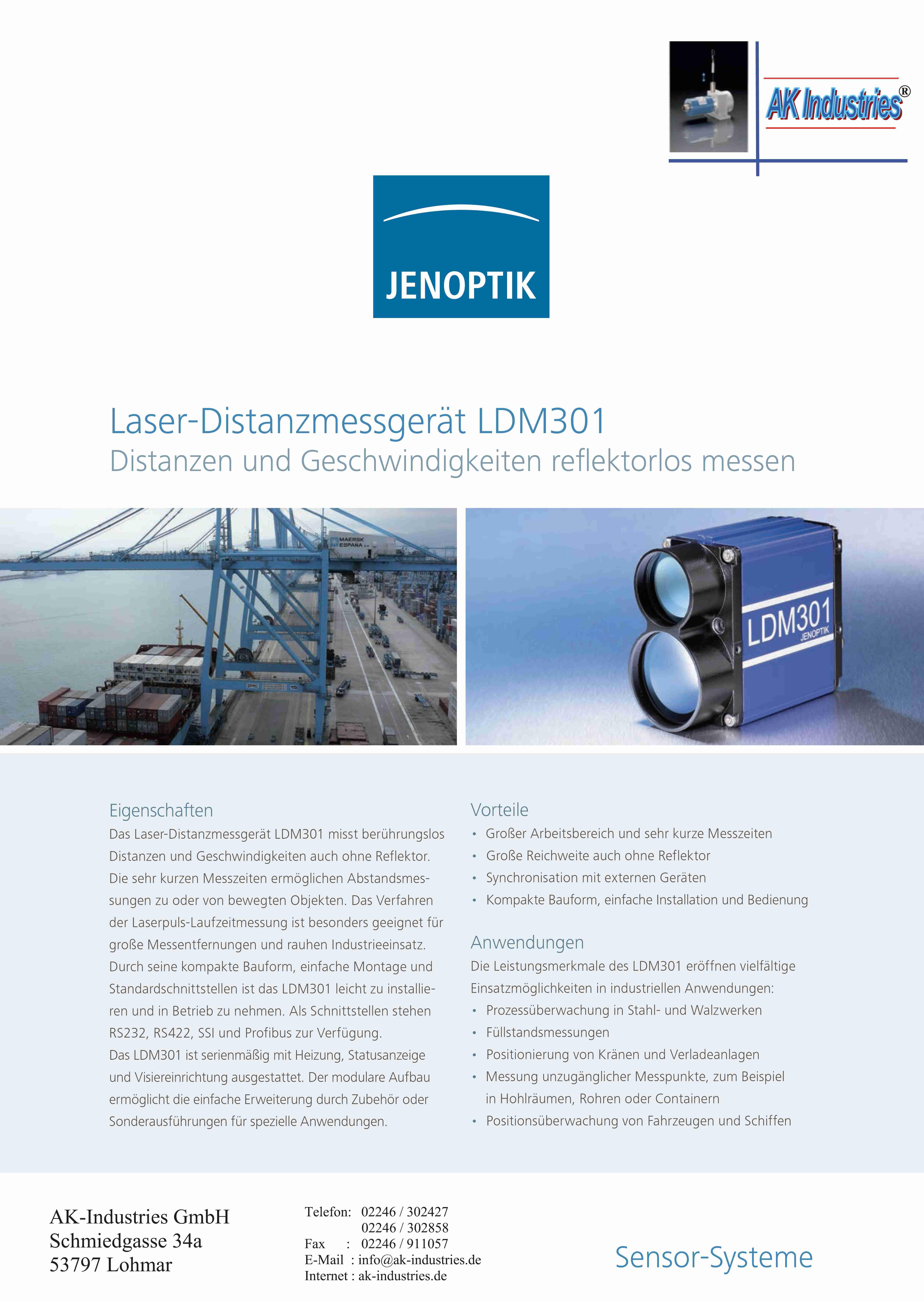 LDM301 Jenoptik Laser