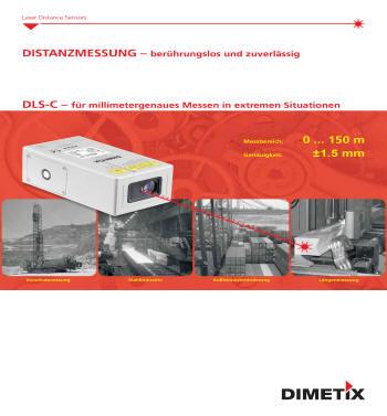 Distanz-Sensor DLS-C : Messen Sie berührungslos absolute Distanzen bis 30m. Wartungsfrei messen Sie damit auf natürliche Oberflächen mit einer Genauigkeit von 3mm. Sie ermitteln die Position von schwer zugänglichen Objekten und solchen mit sehr hohen Oberflächentemperaturen. Ebensoeinfach und exaktmessen Sie Distanzen inagressiver Umgebung. Die Anwendung in novativster Lasertechnologie ermöglicht eine sehrkompakte Bauform,was eine platzsparende Montage erlaubt. Die EDS-C Distanz-Sensoren verfügen über ein robustes Aluminiumgehäuse der Schutzklasse IP65. Weiter können diese Distanz-Sensoren bei Umgebungstemperaturen von-10°C bis +50°C betrieben werden. Das hervorragende Preis/ Leistungsverhältnis ist einweiteres Merkmal des EDS-C Distanz-Sensors.Der elektrische Anschluss der EDS-CDistanz-Sensoren erfolgt übereinen standardisierten 5-poligen M12 Sensorstecker. Für die Messwertausgabe steht eins kalierbarer Analogausgang zur Verfügung, womit eine kostengünstige Anbindung an einebeliebige Steuerung sichergestellt ist.