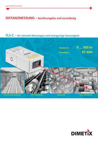 Dimetix FLS Distanzlaser messen Sie berührungslos absolute Distanzen bis 30m. Wartungsfrei messen Sie damit auf natürliche Oberflächen mit einer Genauigkeit von 3mm. Sie ermitteln die Position von schwer zugänglichen Objekten und solchen mit sehr hohen Oberflächentemperaturen. Ebensoeinfach und exaktmessen Sie Distanzen inagressiver Umgebung. Die Anwendung in novativster Lasertechnologie ermöglicht eine sehrkompakte Bauform,was eine platzsparende Montage erlaubt. Die EDS-C Distanz-Sensoren verfügen über ein robustes Aluminiumgehäuse der Schutzklasse IP65. Weiter können diese Distanz-Sensoren bei Umgebungstemperaturen von-10°C bis +50°C betrieben werden. Das hervorragende Preis/ Leistungsverhältnis ist einweiteres Merkmal des EDS-C Distanz-Sensors.Der elektrische Anschluss der EDS-CDistanz-Sensoren erfolgt übereinen standardisierten 5-poligen M12 Sensorstecker. Für die Messwertausgabe steht eins kalierbarer Analogausgang zur Verfügung, womit eine kostengünstige Anbindung an einebeliebige Steuerung sichergestellt ist.